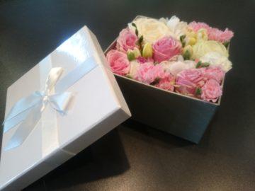 Bukiety okolicznościowe flower box pudełka kwiatowe