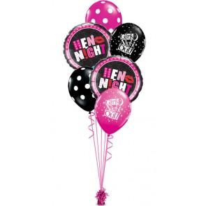 balony z helem na wieczór panieński
