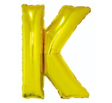 balony z helem litery