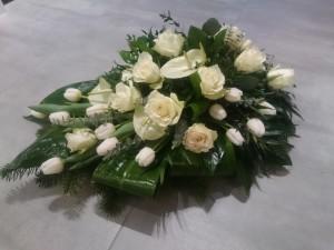 Kwiaty na pogrzeb, kompozycje nagrobne wiązanki wieńce pogrzebowe