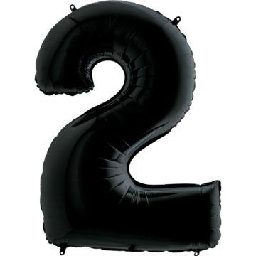 balon z helem cyfra