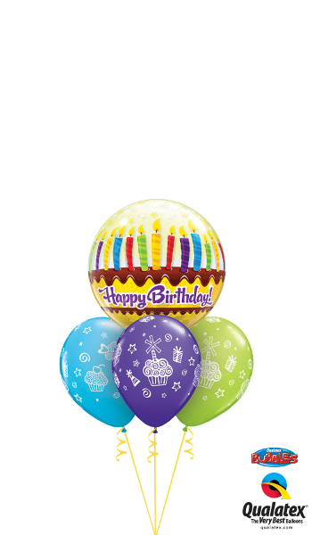 10398 31227 Birthday Candles & Frosting Bubble Layer