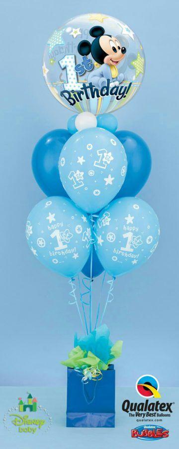 balony z helem na roczek