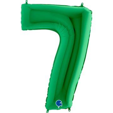 cyfry z helem zielone 7