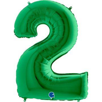 cyfry z helem zielone 2
