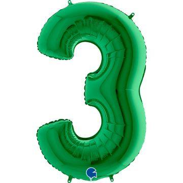 cyfry z helem zielone 3