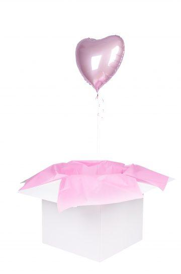 serce poczta balonowa