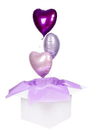 wyślij balonowe serca