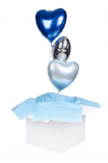 zestaw balonów z helem