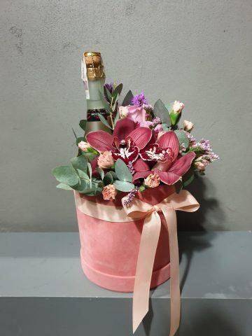 kwiaty i alkohol