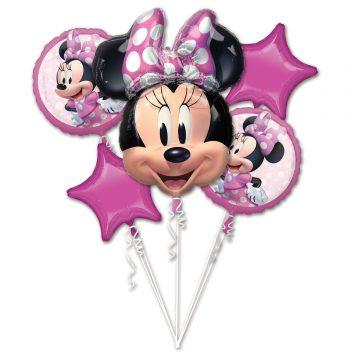zestaw balonów minnie