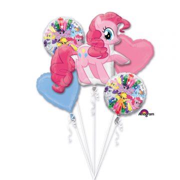 bukiet balonów pony