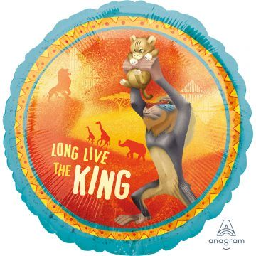 król lew balon z helem