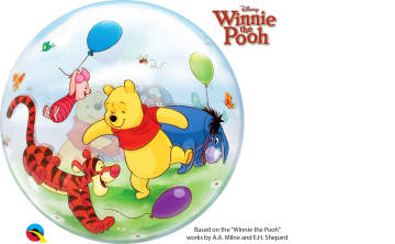 kubuś puchatek balon