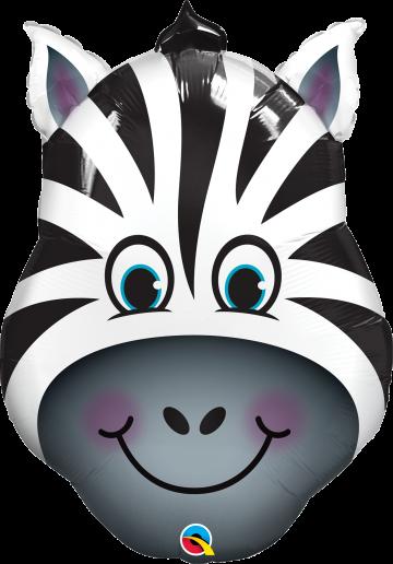 zebra balon