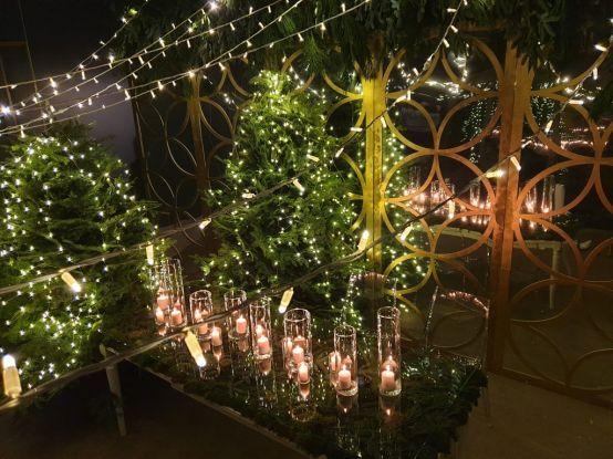 dekoracje bożonarodzeniowe sfera zieleni