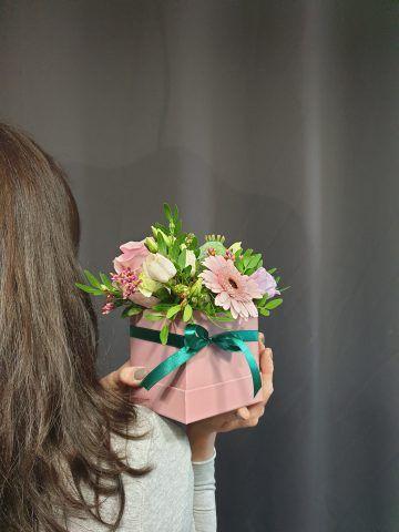 flower boxy sfera zieleni