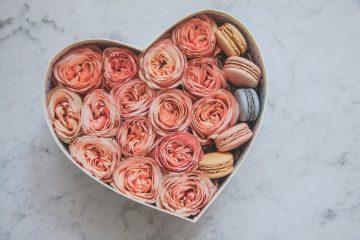 sfera zieleni flowerbox makaroniki serce